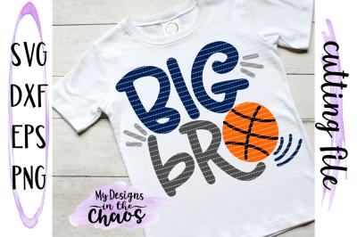 Big Bro Basketball SVG | Basketball SVG | Sports SVG | Brother SVG