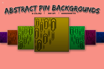 Abstract Pin Backgrounds
