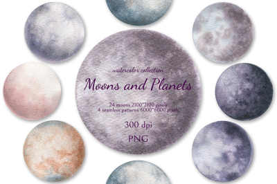 Moons and Planets