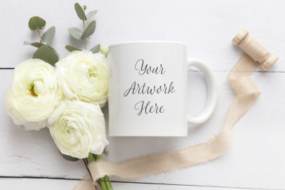 Wedding Mug Mockup
