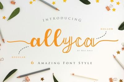 Allyca - Font Family