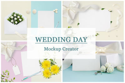 Wedding Day Mockup Creator