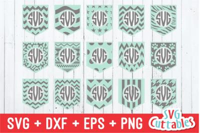 Pocket Monogram Frames