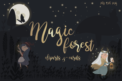 Magic forest collection