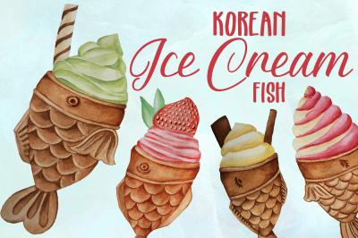 Korean Fish Ice Cream