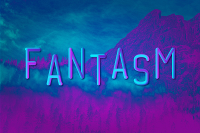 Fantasm 3D Font