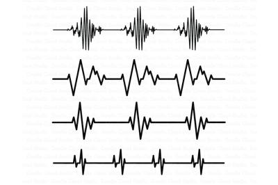 Heartbeat SVG, Cardio Files, Heart Beat Line SVG Files