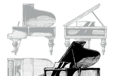 illustration of Grand Piano