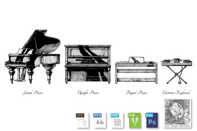 Types of piano