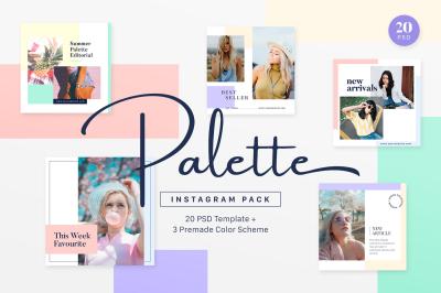 Instagram Pack - Palette