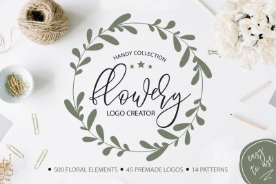 Flowery Logo Creator