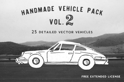 Handmade Vehicle Pack - Vol 2