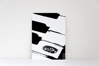 Vertical Print mockup game card portrait template 5x7