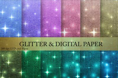 Glitters Digital Paper