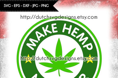 Hemp cutting file, for Cricut & Silhouette, hemp svg, weed svg