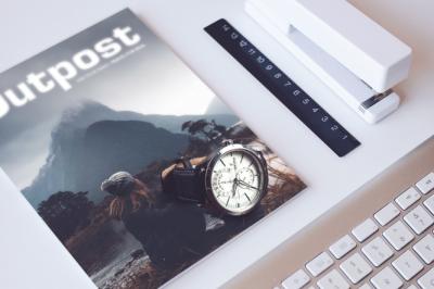 Magazine's cover Mockup