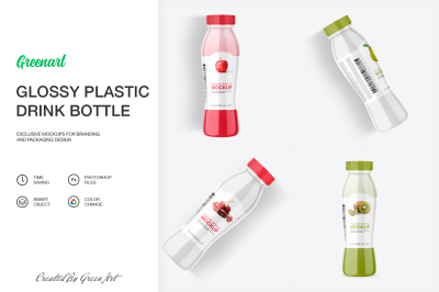 Download Glossy Plastic 2l Bottle Mockup Yellowimages