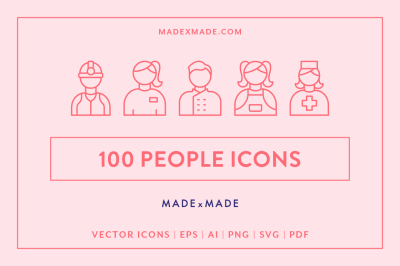 Line Icons – People