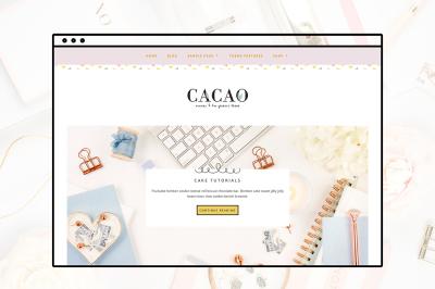Cacao Geneis Child Theme