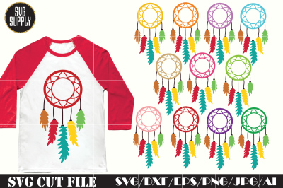 Dream catcher SVG * Dream Catcher set SVG cut file
