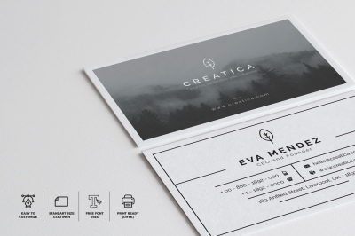 Minimalist Business Card Vol. 03