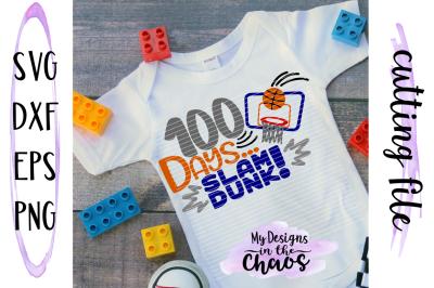 100 days of school svg | School SVG | basketball SVG | Silhouette