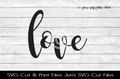 Love SVG Cut File