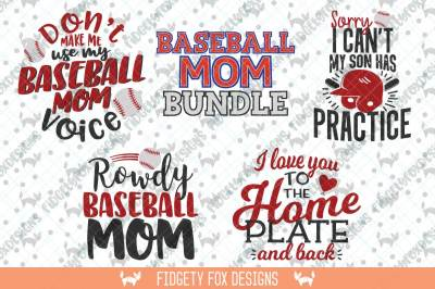 Baseball Mom Svg Bundle, Baseball Svg, Svg Bundle