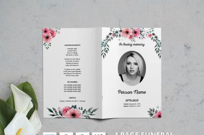 Watercolor Flower Funeral Brochure-v03