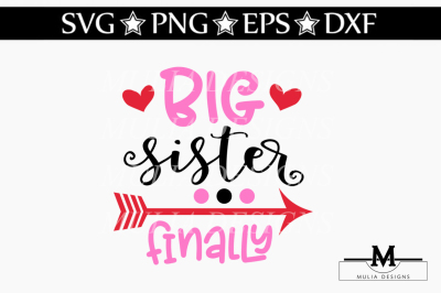 Big Sister Finally SVG