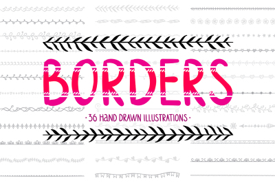 Hand Drawn Borders