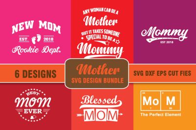 Svg Bundle Mother's Day Designs. Mommy, Mom T shirt Designs