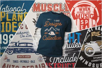 T-Shirt Designs Collection. Part 1