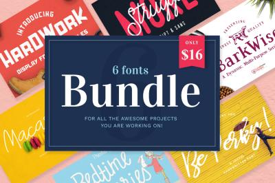 The Font Bundle