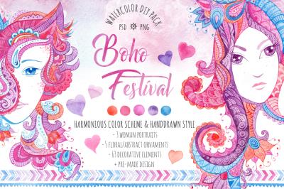 Boho Festival DIY Pack