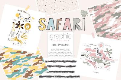 Safari graphic kit