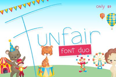 Funfair Font Duo