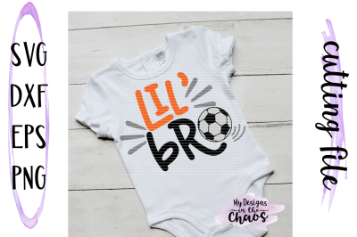 Soccer SVG | Little Brother SVG | Sports SVG | Silhouette | Cricut