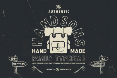 Handsons Typeface