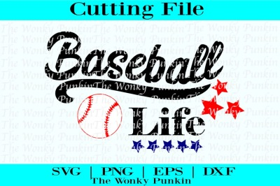 Baseball Life , Svg Cut File