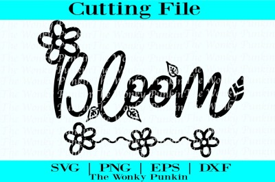 Bloom Spring , Svg Cut File