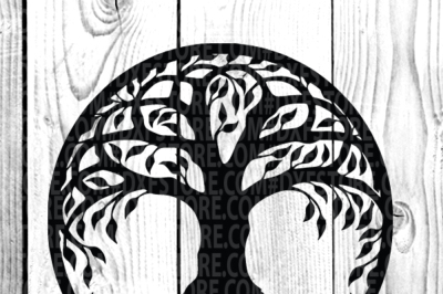 Life of tree ,tree cut file, tree cut out, tree Tattoo