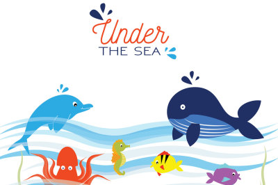 Under the Sea clip art
