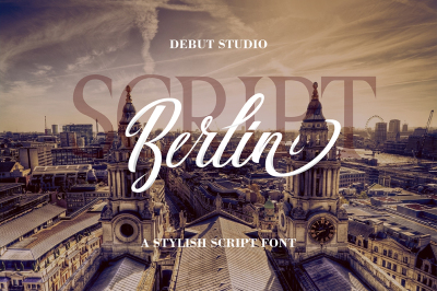 Berlin Script + Great Serif