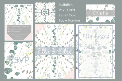 Foliage Stationery Pack