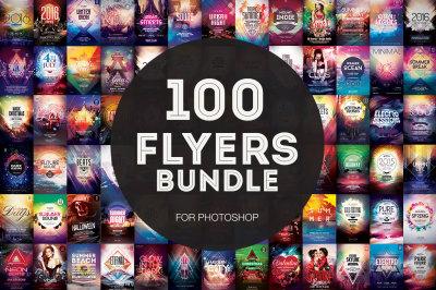 100+ Flyer Templates - Mega Bundle