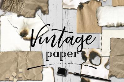 Vintage paper textures backgrounds