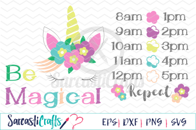 Be Magical - Water Tracker - SVG PNG EPS DXF