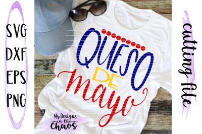 Cinco De Mayo SVG | Queso SVG | Taco SVG | Funny SVG | Silhouette