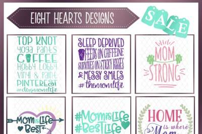 Mothers Day Bundle 18 Designs